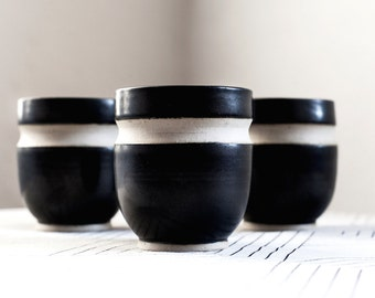 Nordic black tableware - Teacup