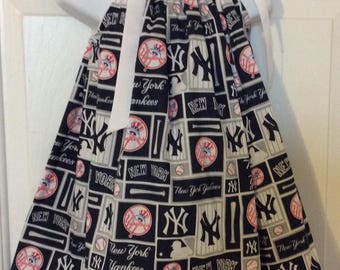 NY Yankees Pillowcase Dress Size 5T