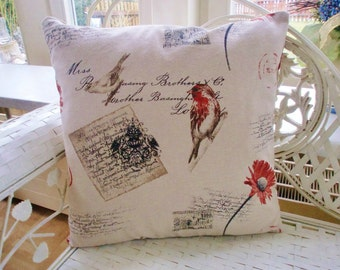 Pillow case in a country house style