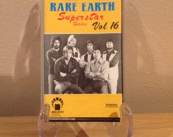 Rare Earth - Superstar Series Vol 16 Music Cassette