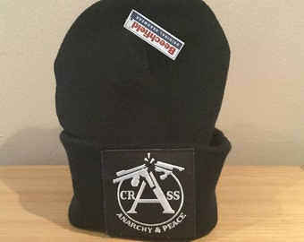 Vintage Crass Patch/Upcycled Hat