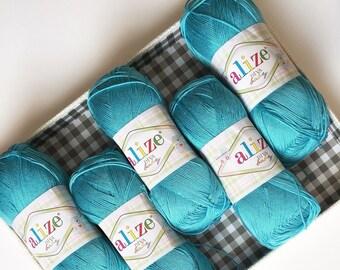 Baby yarn ALIZE DIVA BABY, summer yarn,microfiber yarn, silk effect