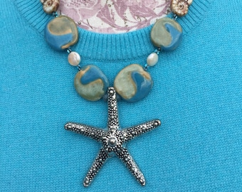 Lazy Day At The Beach Necklace