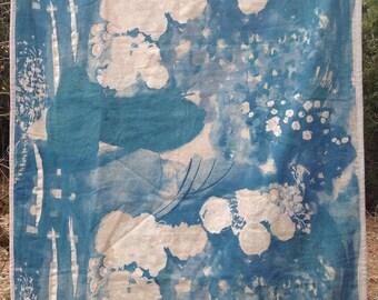 Linen Full Cloth Quilt Nani Iro Fabric