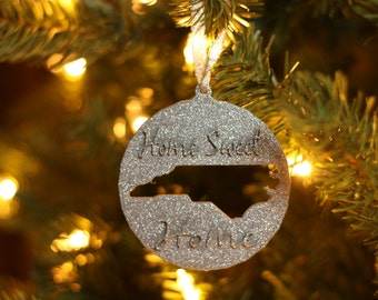 USA Shape Ornament Foreign Exchange Student Ornament State
