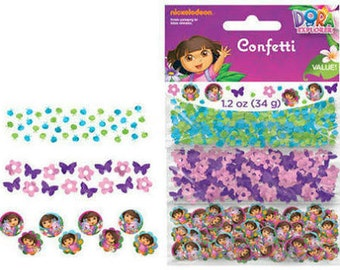 Dora the Explorer Paper Confetti Value Pack (3 types)