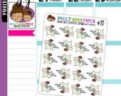 Llama Planner Stickers | Half Week Humping Planner Stickers | Sarcastic Planner Stickers | Character Stickers | 015