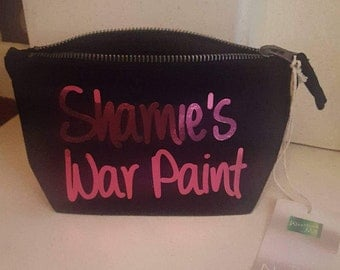 Handmade Makeup bag/Holder/Pouch made with your personalisation