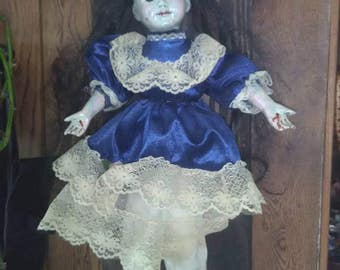 Haunted Doll !  Possessed Doll ! Stigmata Scary Doll very Creepy