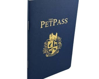 The Pet Pass - Love your Pet? Love to Travel? The Pet Pass is a fun way to keep track of all your pets' travels and personal information.