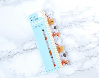 Dogs Sticky Bookmarks - Dog Sticky Bookmarks