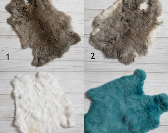 Natural rabbit fur, newborn props, photography prop, natural fur, newborn photo props