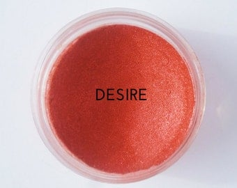 Mineral Eyeshadow Desire Cruelty Free Makeup Vegan Makeup Mineral Makeup Eye Shadow Eyes Red Eyeshadow Long Lasting Modern Ecoluxe Cosmetics