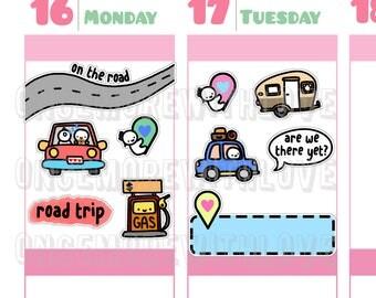 Munchkins - Road Trip Planner Stickers (M279)