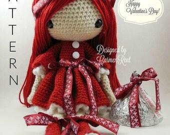 Valentina - Amigurumi Doll Crochet Pattern