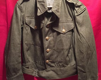 British Army 1946 dated Reed Green Jacket