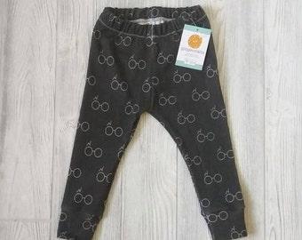 Organic Cotton Harry Potter Style BABY Leggings