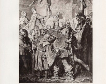 an analysis of the character of falstaff in king henry iv by william shakespeare Is falstaff falstaff is prince hal henry v:  of 2 henry iv, prince hal becomes king henry,  to-character sentiment analysis in shakespeare's.