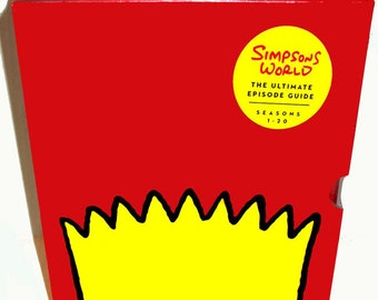 Simpsons World Book  Ultimate Episode Guide 1-20 BRAND NEW Hardcover 150.00 Retail Priced Factory Sealed