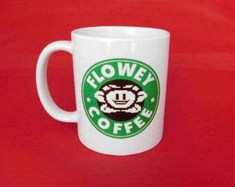 Undertale Flowey Starbucks Inspired Coffee Mug 10oz