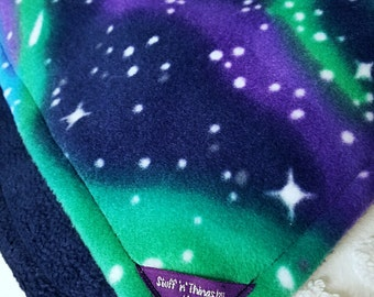 Northern Lights Fleece Blanket