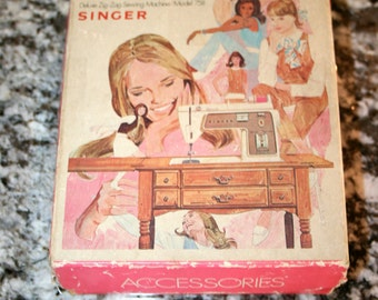 Accessories for Singer Touch & Sew//Model 758//Deluxe Zig-Zag Sewing Machine//Vintage Singer Accessories