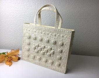 70's Yarn Craft Handbag