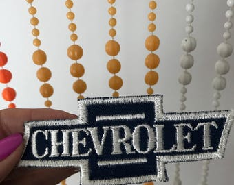 Vintage Chevy Chevrolet Car Patch Logo