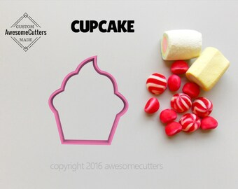 Cupcake Cookie Cutter. Birthday cookies. Birthday Cookie Cutter. Cupcake Fondant