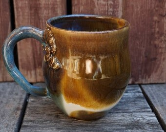 Ocean Ceramic Coffee Cup
