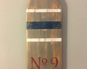 Wood Paddle/Oar Wall Decor
