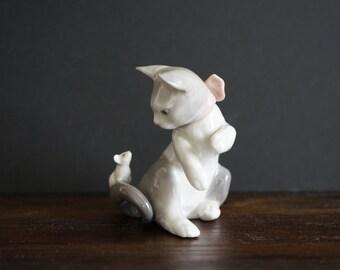 Lladro Cat #5236 Perfect Condition !