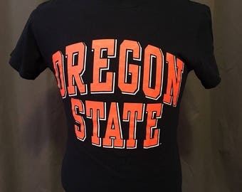 Vintage Oregon State University T-Shirt, Size: Small