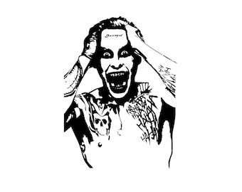 The Joker Decal, Suicide Squad Joker, Joker and Harley Quinn, DC Comics