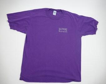 Vintage Baltimore Ravens Tee - Vintage 90s NFL Football Tshirt - XL