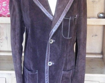 1970s  gents suede jacket by Austin Reed size 38-40 now HALF PRICE