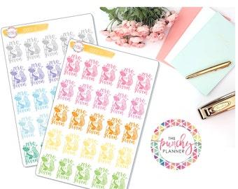 Zero Fox Given Planner Stickers // Fox Planner Stickers // Decorative Planner Stickers // Fun Planner Stickers