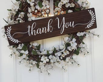 Thank You Wedding Photo Prop Sign