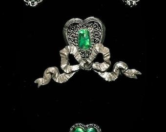 Slytherin Prefect Alumni Jewelry Set