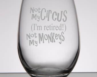 Retirement Glasses, Retirement Gift for Women, Retirement Gift for Man, Retirement Gifts, Retirement Party, Retirement Glasses, Retiree Gift