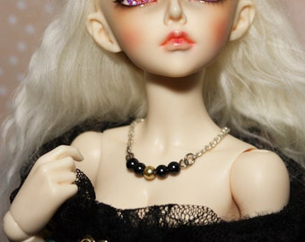 MSD Black Gold Pearl Necklace