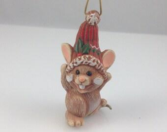 Merry Mouse Hallmark Keepsake Ornament (1985)