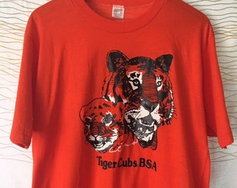 Tiger Cubs Family 1980s Tee