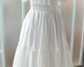 White cotton Lolita dress
