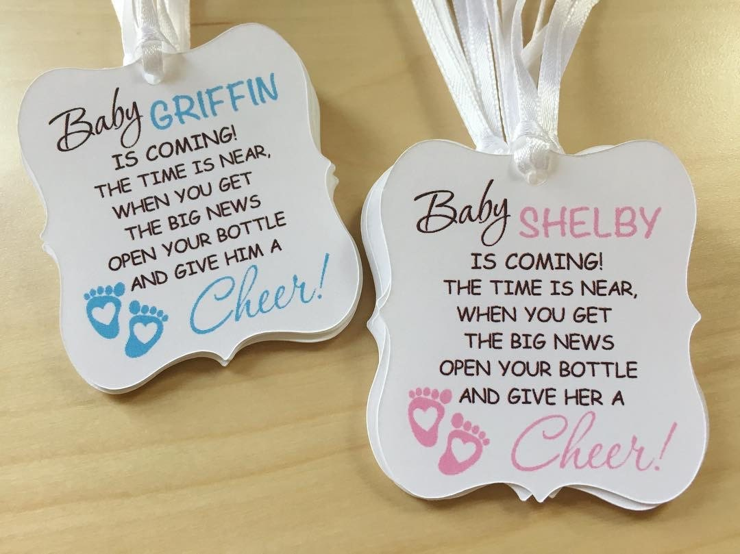 Awesome Baby Shower Favor Cards Part - 14: ?zoom