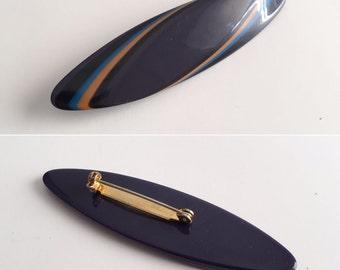 Vintage 80s Pin, 80s Brooch, Vintage Plastic Pin