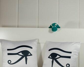Egypt pillow Moon- and Sun Eye