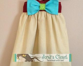 Disney Moana Dress   Moana Dress   Moana Birthday Party Dress