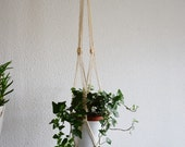 Suspension for macrame plant / Macrame hanging plant