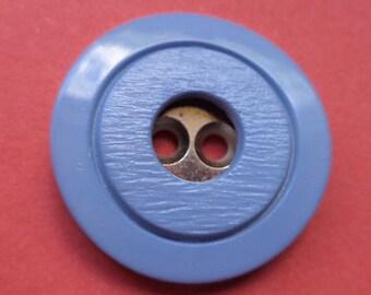 6 buttons light blue 23mm (3458) blue button